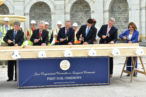 Joint Task Force National Capital Region - First Nail Ceremony, September 21, 2016