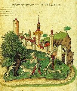 Tschachtlan-Chronik, Berner Bärenjagd