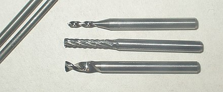Tungsten carbide endmills Tungsten carbide.jpg
