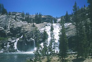 Glen Aulin High Sierra Camp - Falls at Glen Aulin