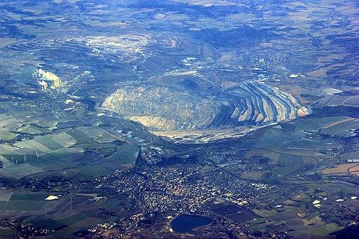 Tagebau Turow. Turów Aerial