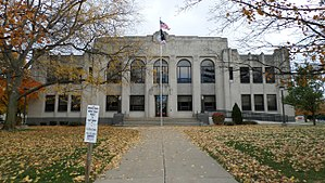 Tuscola County, Michigan - Image: Tuscola County Courthouse