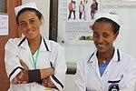 Two Nurses at Debre Berhan Hospital (9499579359).jpg