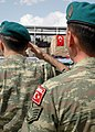 Two Turkish soldiers salute in Kabul (4699277363).jpg
