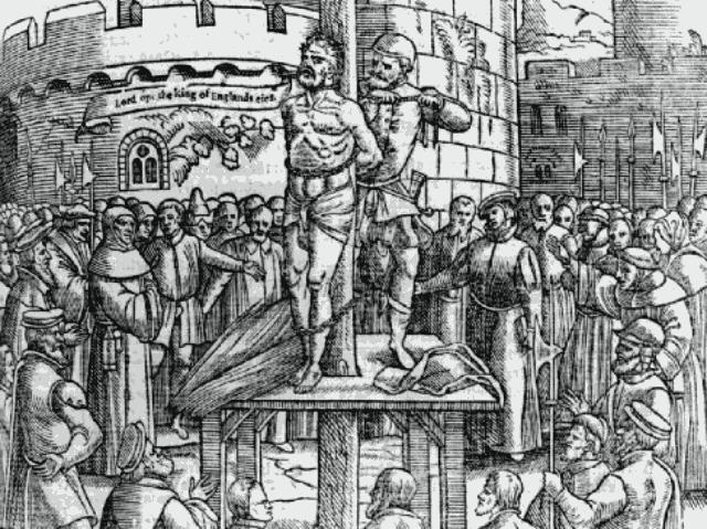 Tyndale-martyrdom