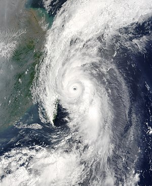 Typhoon Soudelor (2003) - Image: Typhoon Soudelor 18 jun 2003 0225Z