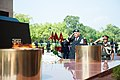 U.S. Army Chief of Staff Gen. Raymond T. Odierno saluting the martyrs at Amar Jawan Jyoti.jpg