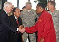 U.S. Senators make visit to Humphreys Garrison (5168729948).jpg