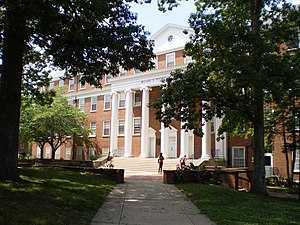 University of Maryland College of Behavioral and Social Sciences - South view of Tydings Hall