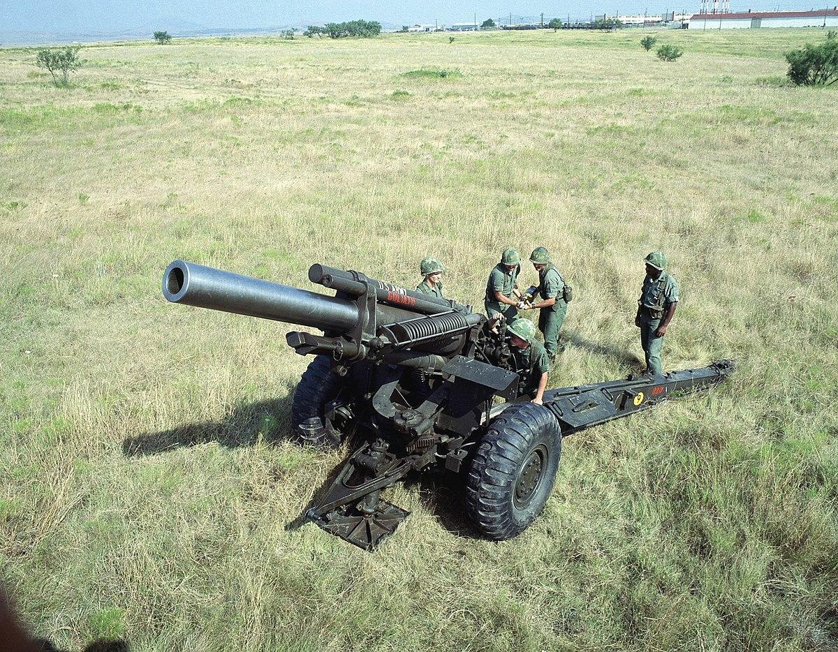 m114 155 mm howitzer wikipedia. Black Bedroom Furniture Sets. Home Design Ideas