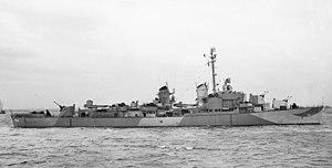USS Alfred A. Cunningham - Image: USS Alfred A. Cunningham (DD 752)