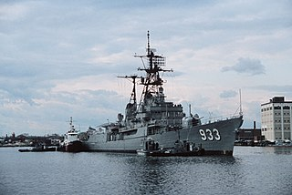 <i>Forrest Sherman</i>-class destroyer Destroyer class of the US Navy