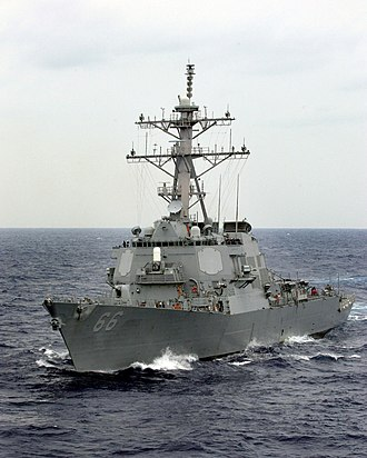USS Gonzalez - Gonzalez in the Atlantic, 2003