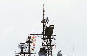 AN/SPS-48 - Image: USS Mac Donough (DDG 39) radar