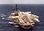 USS Midway (CVA-41) underway in the Pacific Ocean, in April 1971 (NNAM.1996.488.116.074).jpg