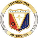 USS Peleliu (LHA-5) insignia 2010.png