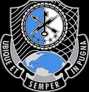 780th Military Intelligence Brigade (United States) - Image: US Army 780th MIB DUI