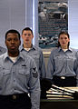 US Navy 050315-N-0068M-001 Students attending QuartermaA School class 05060, at the Center for Surface Combat Systems, recite the Sailor's Creed at the beginning of the training day.jpg
