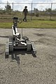 US Navy 060419-N-9167V-419 A Pack Robot is demonstrated at the Explosive Ordnance Disposal Mobile Unit Five (EODMU-5) compound on board Naval Base Guam.jpg