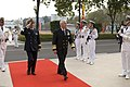US Navy 080116-N-8623G-083 Adm. Timothy J. Keating, commander of U.S. Pacific Command, walks through an honor cordon at the Peoples Liberation Army Navy Surface Warfare Academy in Guangzhou.jpg