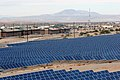 US Navy 090213-M-4820H-003 An array of solar panels supplies energy for necessities at Marine Corps Air Ground Combat Center Twentynine Palms, Calif.jpg