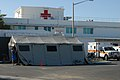 US Navy 100117-A-2192H-001 Service members from U.S. Naval Hospital Guantanamo Bay set up base exercise tents in preparation for the possible expansion of urgent care services.jpg