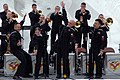 US Navy 100208-N-5086M-159 U.S. 7th Fleet Band members perform during the 61st annual Sapporo Snow Festival.jpg
