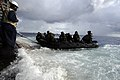 US Navy 100919-N-8335D-813 Marines assigned to the 31st Marine Expeditionary Unit (31st MEU) in a combat rubber reconnaissance craft approach the s.jpg