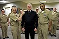 US Navy 110303-N-ZB612-047 Chief of Naval Operations (CNO) Adm. Gary Roughead is made an honorary Master Chief by Mast Chief Petty Officer of the N.jpg