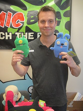 Uglydoll - David Horvath, the creator of Uglydolls, at the 2012 Free Comic Book Day