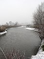 Ukraine Irpen 2010. First snow. River Irpen 4.jpg
