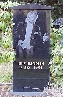 Ulf Björlin Swedish composer and conductor