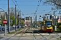 Ulica Grochowska na rondzie Wiatraczna 2019.jpg