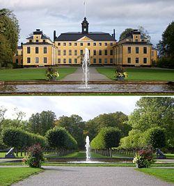 Ulriksdals slott och park.