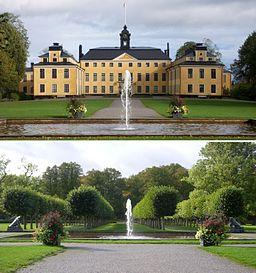Ulriksdals slot og park.