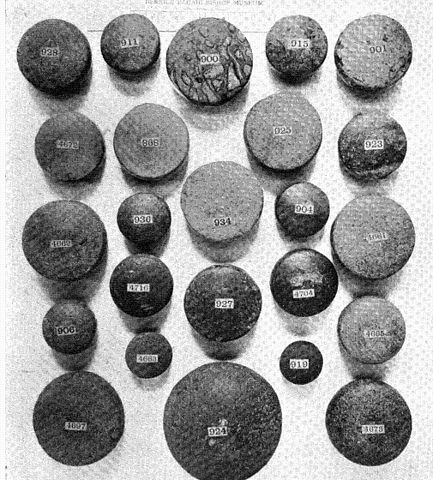exhibit of ulu maika stones – Ancient Hawaiian Ulu Maika (Bowling)