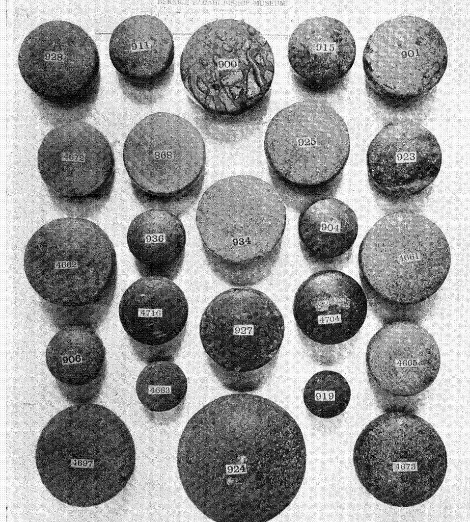Ancient Hawaiian Symbols Photo: Ulu Maika Stone...