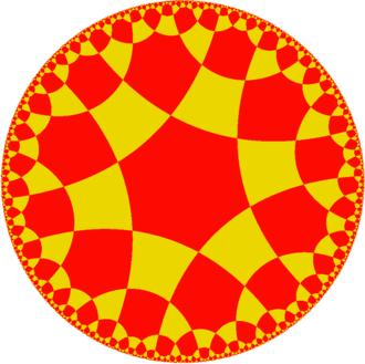 Cubohemioctahedron - Image: Uniform tiling 64 t 1