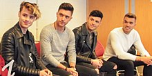 Union J interviewed by students of Ullswater Community College in 2016