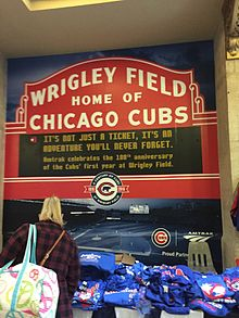Union Station during the Cubs 2016 World Series run IMG 6998.jpg