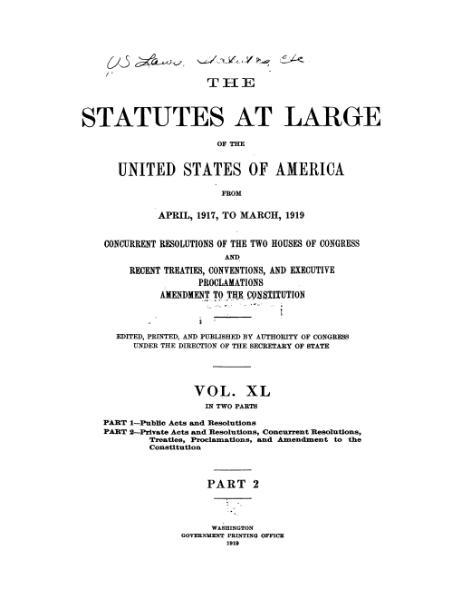 File:United States Statutes at Large Volume 40 Part 2.djvu
