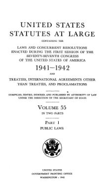 United States Statutes at Large Volume 55 Part 1.djvu