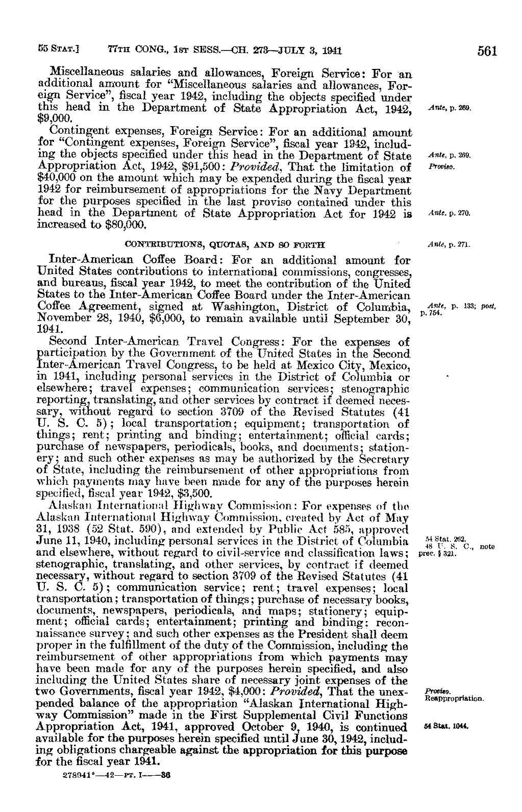 Pageunited States Statutes At Large Volume 55 Part 1vu586