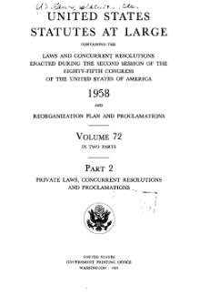 United States Statutes at Large Volume 72 Part 2.djvu