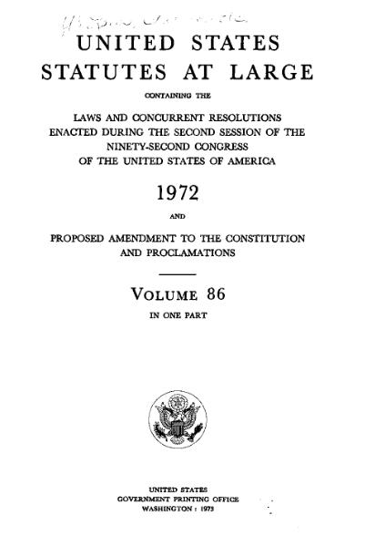 File:United States Statutes at Large Volume 86.djvu