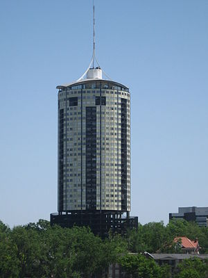 University Club Tower (Tulsa) - The University Club Tower, the tallest residential building in Oklahoma