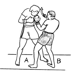 Short straight-punch - Image: Uppercut 3