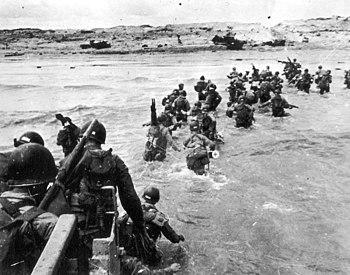 Landing of the Allies in Normandy (Utah Beach)
