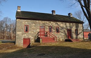 Harmony Township, New Jersey - The Van Nest-Hoff-Vannatta Farmstead, listed on the National Register of Historic Places.