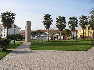 Vila do Bispo - The main square of Vila do Bispo